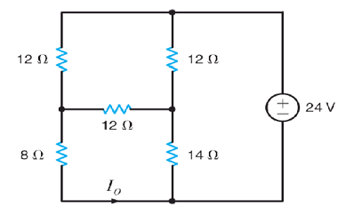 Linear Circuit analysis What is the value of I0?