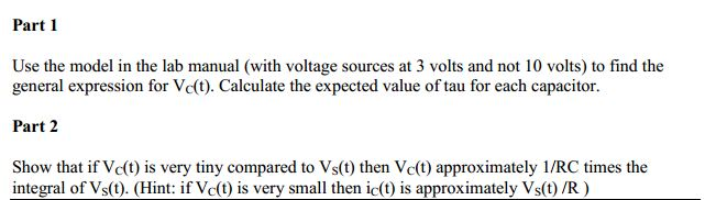 Use the model in the lab manual (with voltage sour