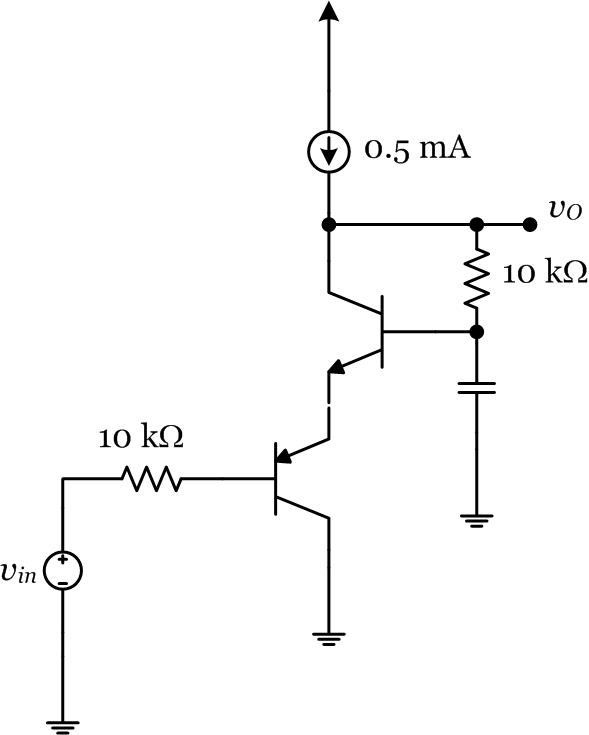 The circuit shown here is another two stage amplif