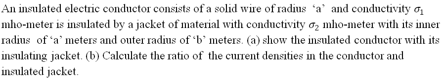 All insulated electric conductor consists of a sol