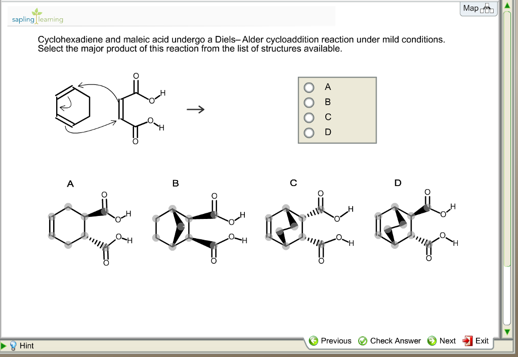 a study of the diels alder cycloaddition reaction Theoretical study of the diels-alder reaction table 2 energies of the conformations of cyclohexene conformation ex(au) ae(sto-3g) ae [9.
