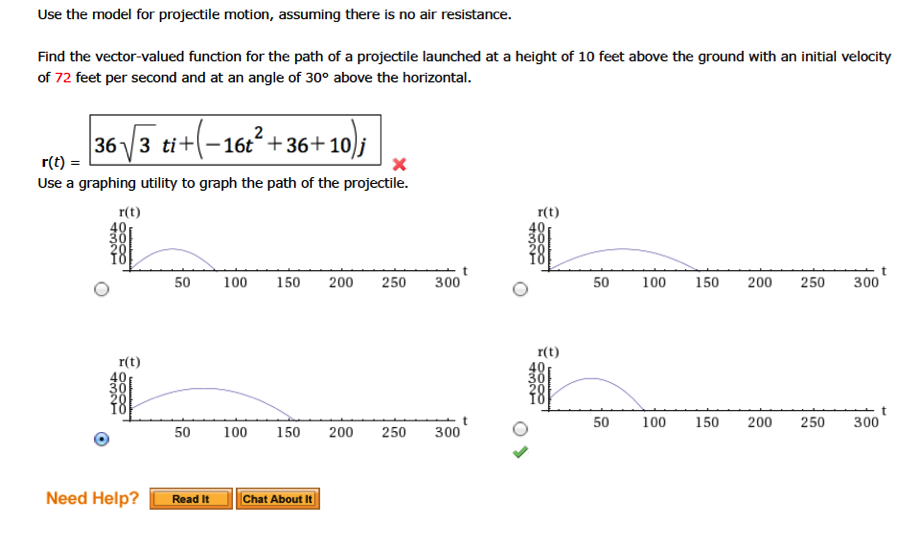 how to find initial velocity in projectile motion without angle