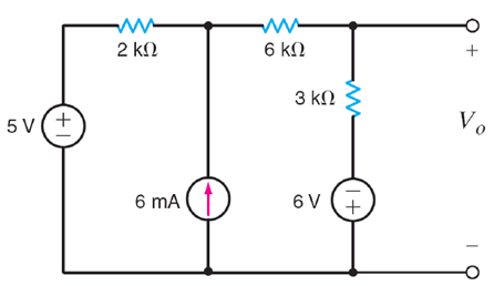 Linear Circuit analysis What is the value of V0 ?