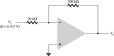 What is the range of the output voltage in the cir