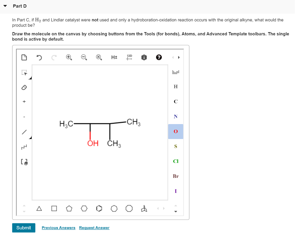 show transcribed image text nts periodic table vcorrect starting with 3 methyl 1 butyne how could you prepare the following alcohols - Periodic Table Zi
