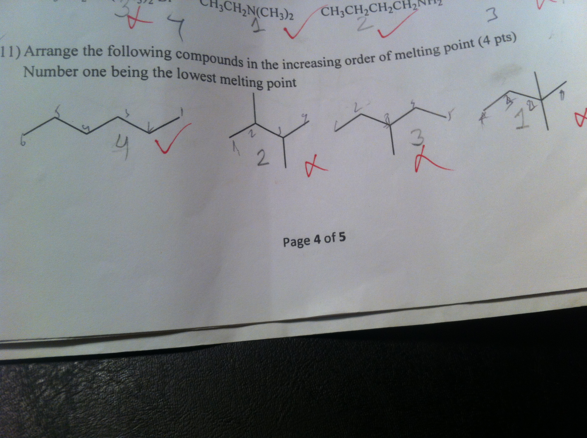 how to find melting point of a compound
