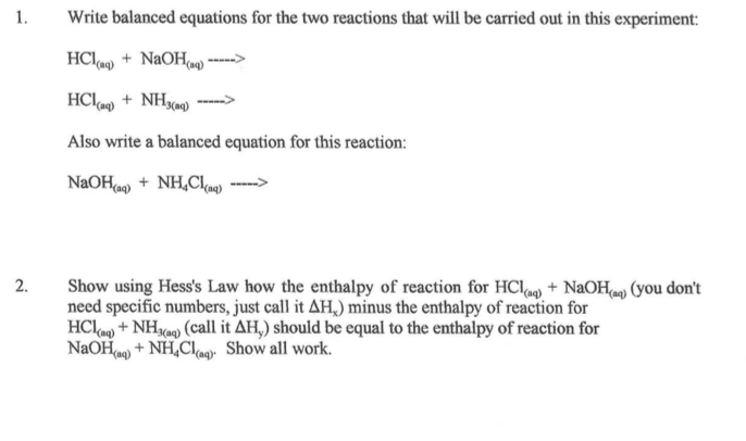 How to write balanced equations for – Balancing Redox Reactions Worksheet