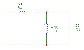 Please find total impedance in rectangular and pol