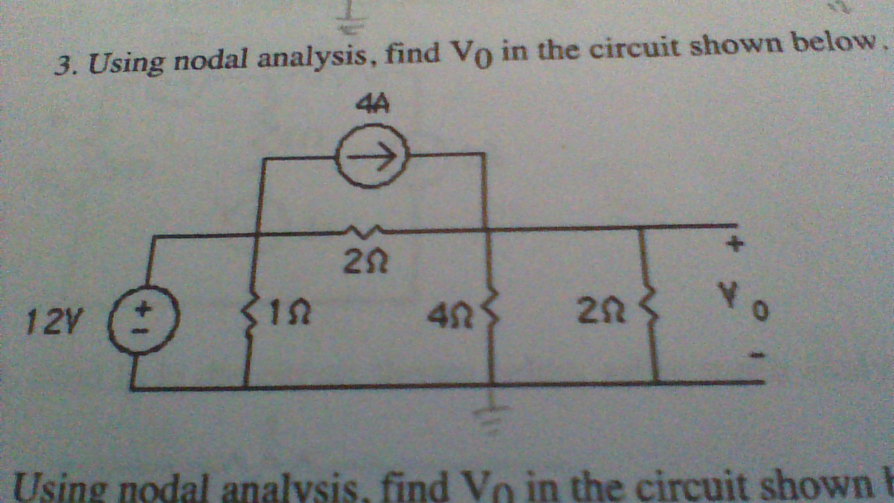 I have gone through other nodal analysis problems,