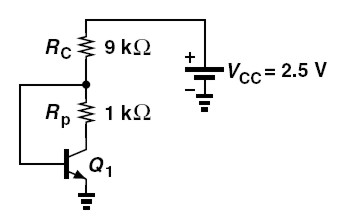 In the circuit of Fig. 4.67, ? = 100 and VA =. C