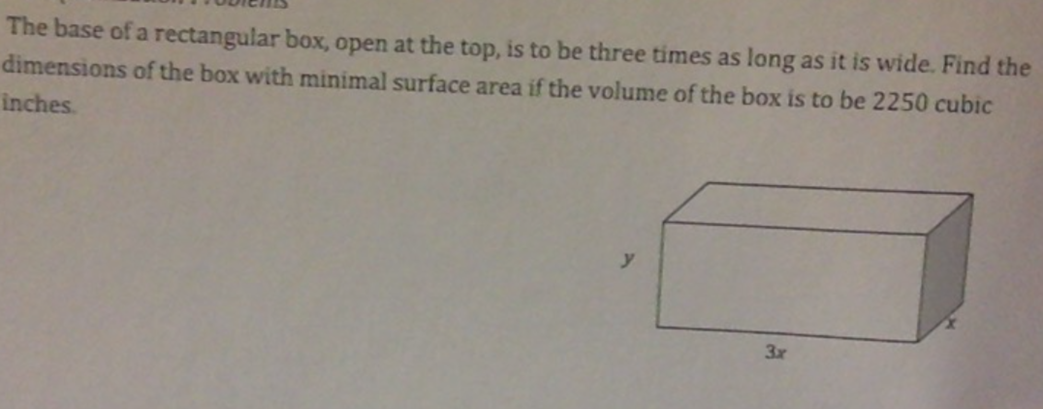 how to find volume of a rectangular box