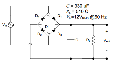 Full Wave Bridge Rectifier Circuit Formulas on forward reverse wiring diagram manual