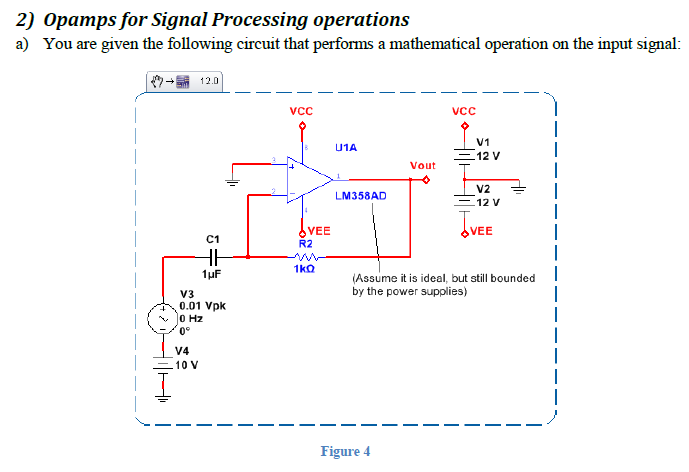 Opamps for Signal Processing operations You are g