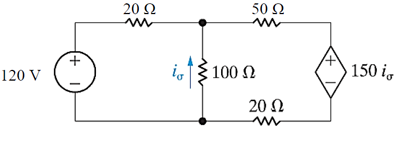 Use node voltage method to find the power delivere