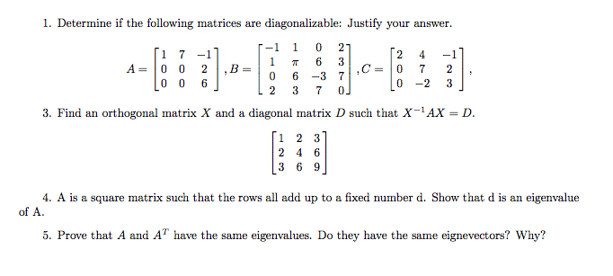 eigenvalues of a 3x3 matrix pdf