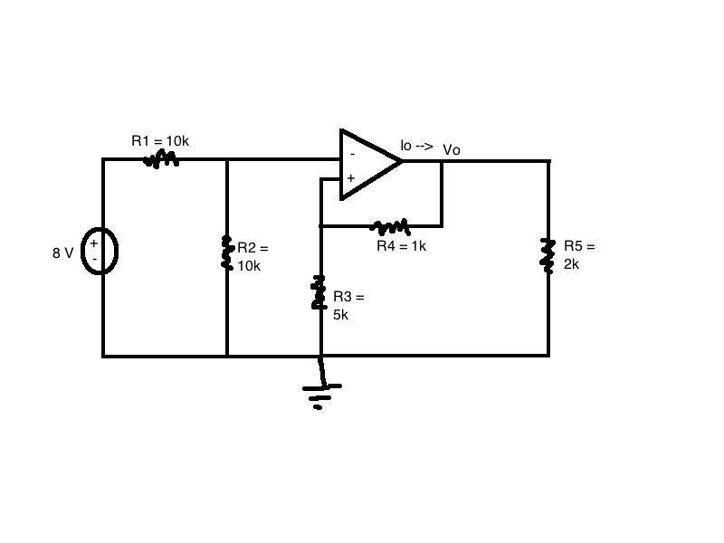 Analyze the circuit by hand&nb