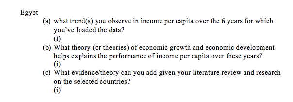 Question: Section 1: GDP per capita among 7 countries: Country Series Name 1990 2005 Name 1995 2000 2010 20...