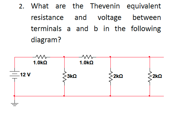 What are the Thevenin equivalent resistance and vo