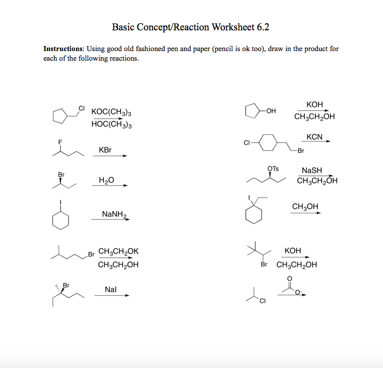 Scribble Drawing Questions : Solved basic concept reaction worksheet instructions