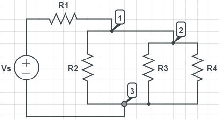 In the circuit shown above, Vs = 36, R1 = 15, R2 =