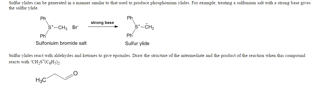 sulfur ylides