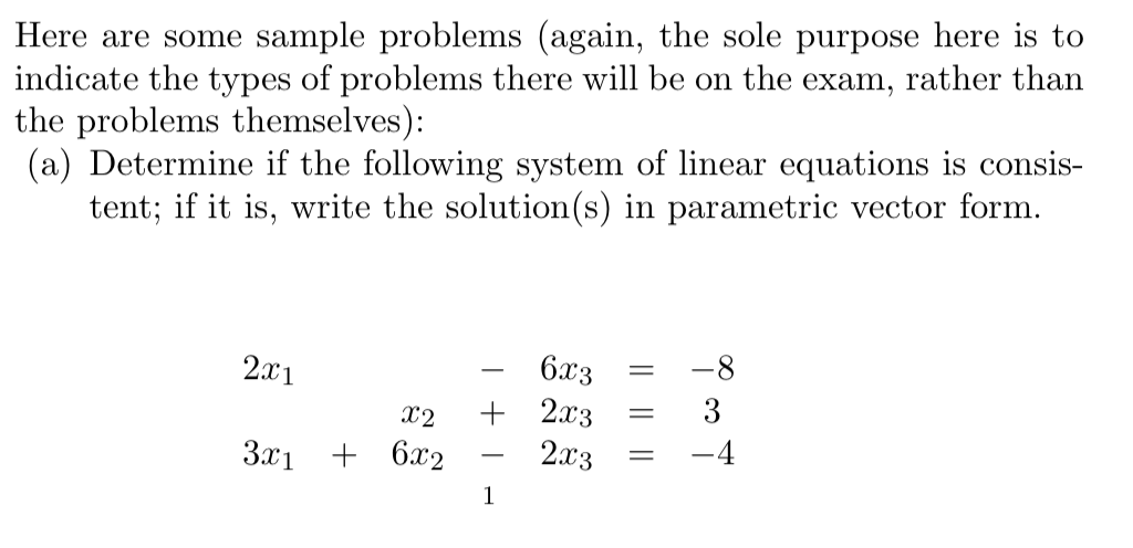 sample problems This is a simple example of how to calculate the sample variance and sample standard deviation.