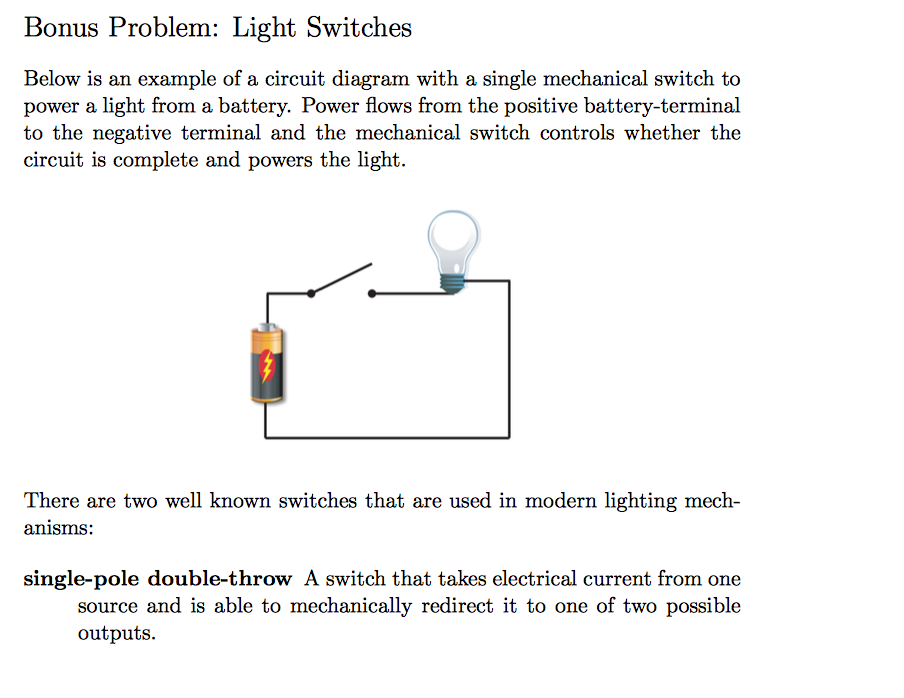 Solved: Below Is An Example Of A Circuit Diagram With A Si ...