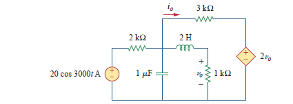 find V0, and I0 on the circit using node voltage m