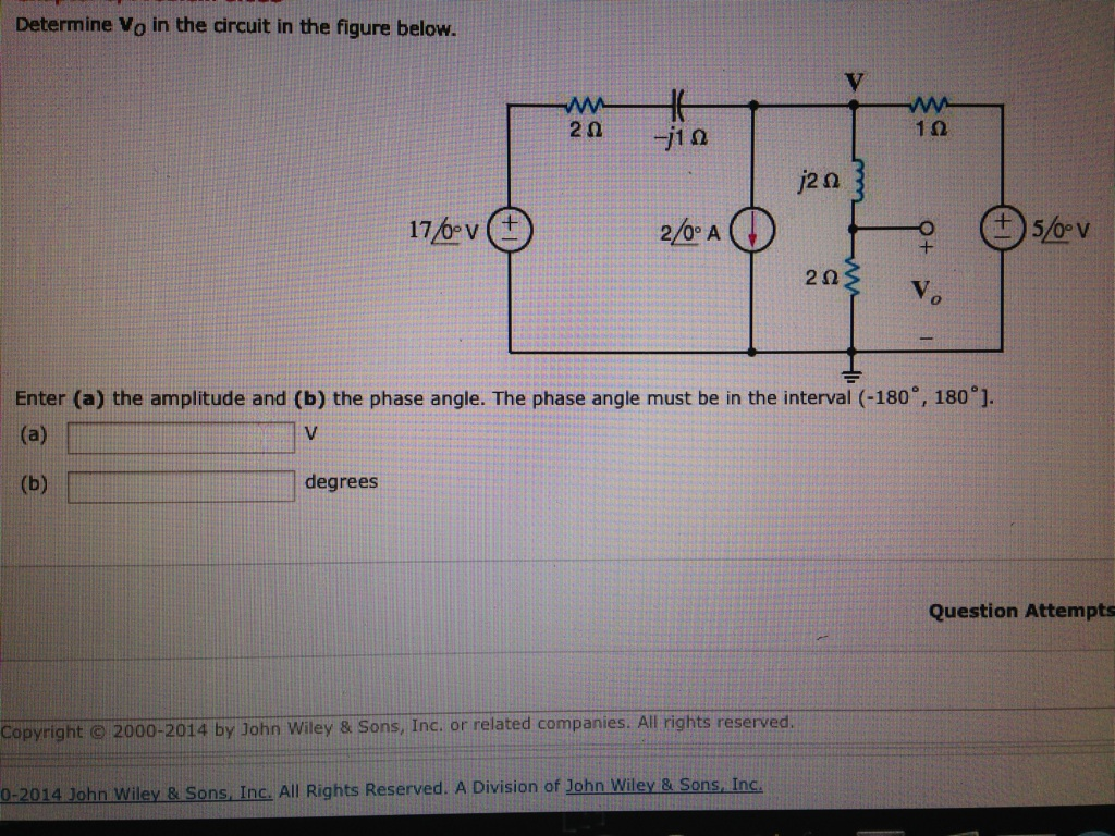 Find voltage V0? Find I0 using nodal