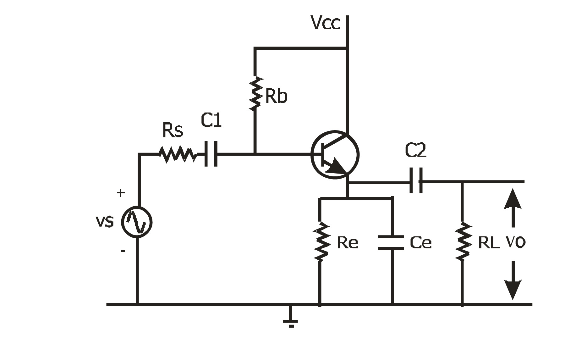 For the circuit of Figure the following parameters