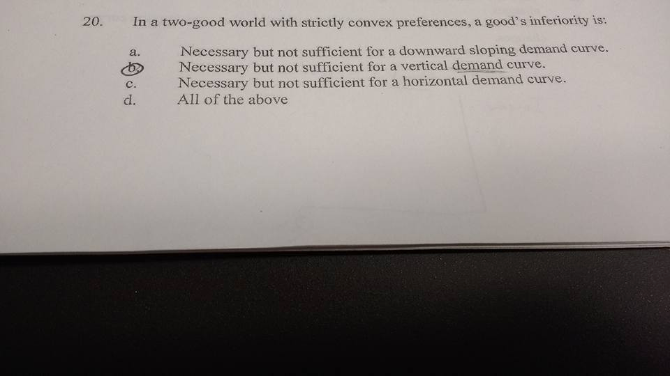 Question: Micro help! I need someone to CLEARLY explain these answers.They are correct, but I think if I c...