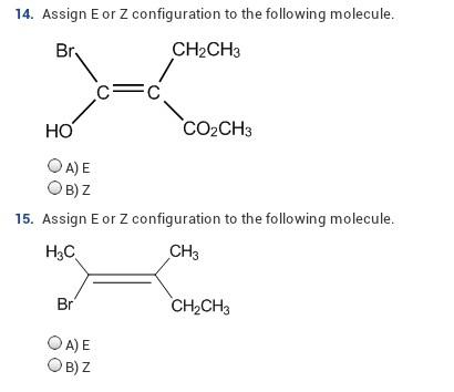 Is The Following Molecule Cis Or Trans? Cis Trans ... | Chegg.com