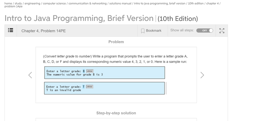 java how to program 10th edition solution manual