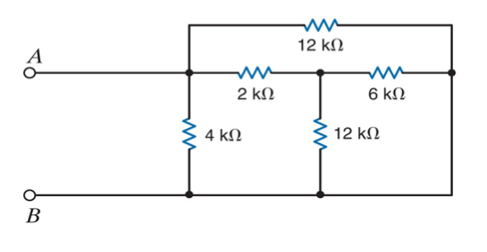 Determine the equivalent Thevenin CircuitDetermine