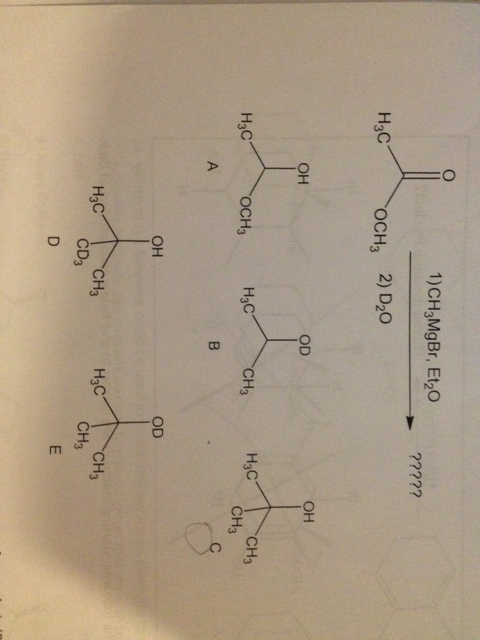 What is the major product of this reaction sequenc