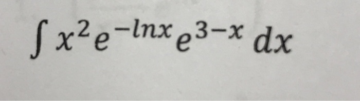 Solve the integral and label steps clearly integr
