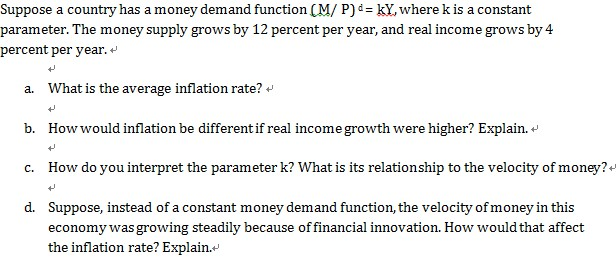 how inflation affects the functions of Hi maxine-ga after conducting an online research, i have found the following information on affects of inflation on functions of money inflation is defined as an.