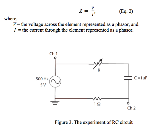 Calculate the current and equivalent impedance of
