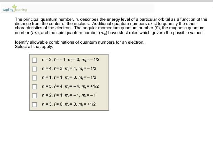 4 quantum numbers for uranium mining