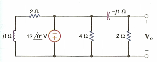 Find Vo in the following circuit.