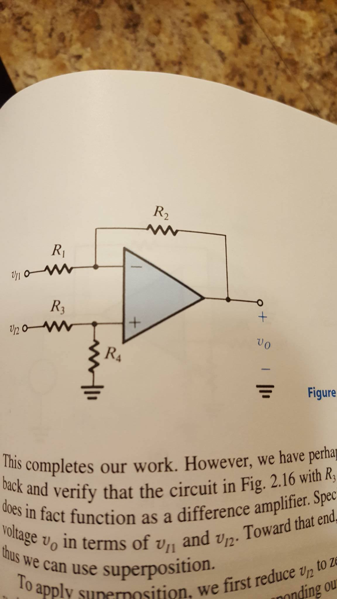 Using the amplifier configuration of fig 216 and chegg question using the amplifier configuration of fig 216 and assuming an ideal op amp design the circuit t pooptronica