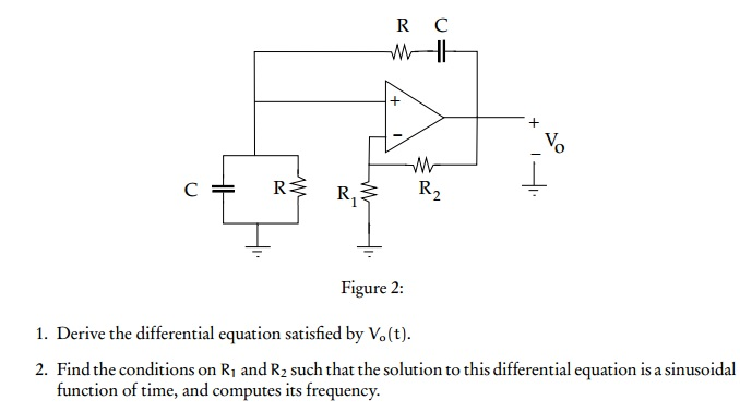Figure 2: Derive the differential equation satisf