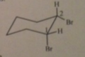 The structural formula corresponding to the Newman