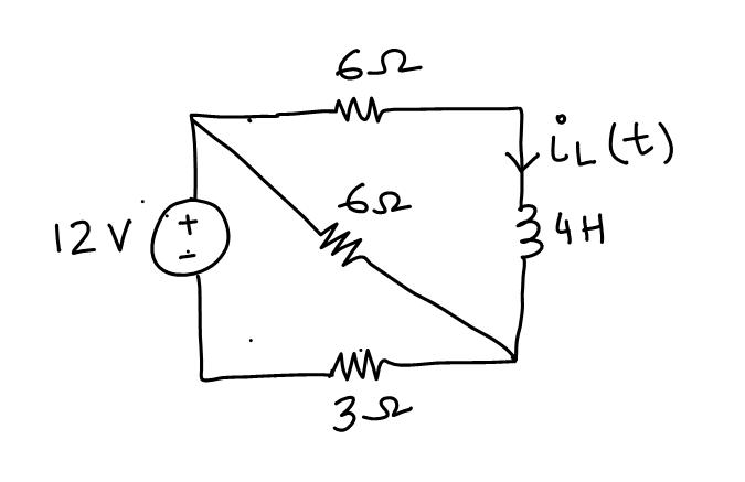 a)The figure below shows a circuit in the