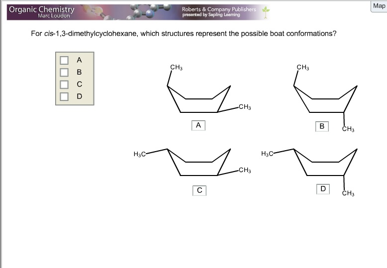 Stereoisomers of Cyclic Compounds  Chemgapedia