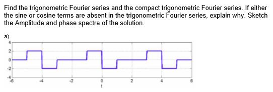 how to solve fourier series