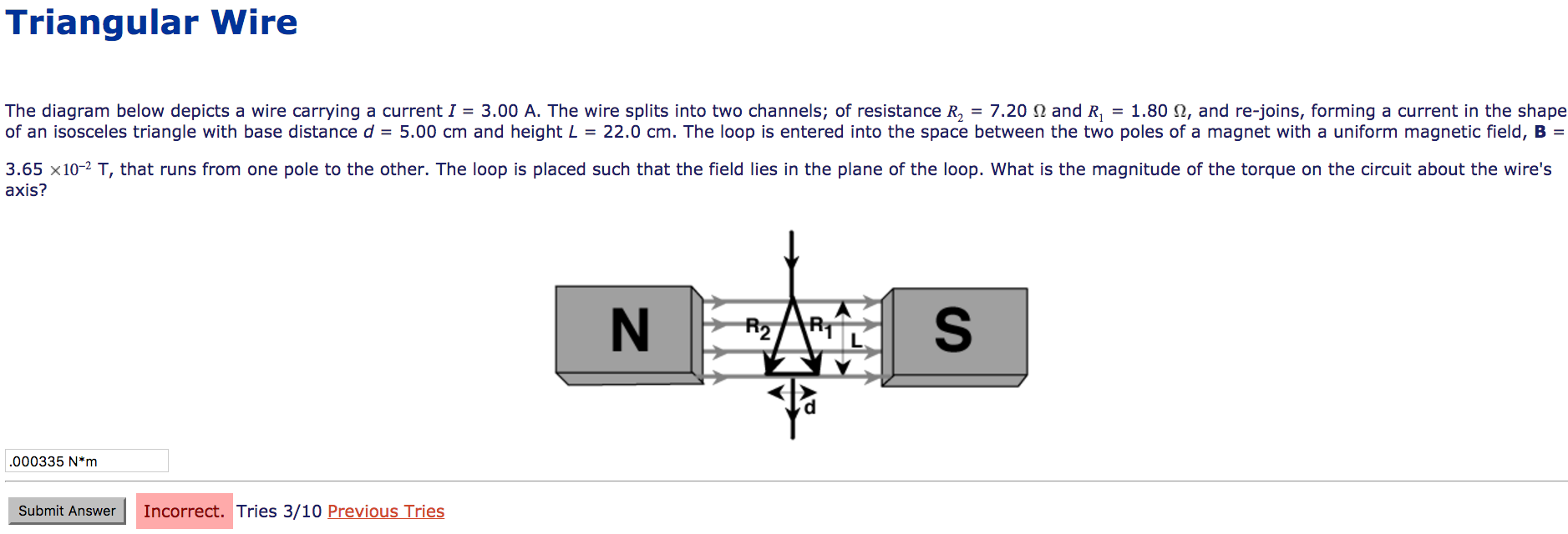The Diagram Below Depicts A Wire Carrying A Curren... | Chegg.com