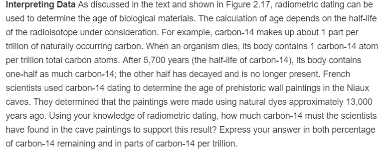Radiometric dating depends on our knowledge of