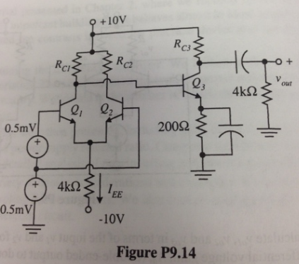 For the circuit shown in Figure P9.14, determine R