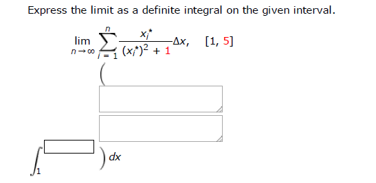 how to find the limit of 1 5 n